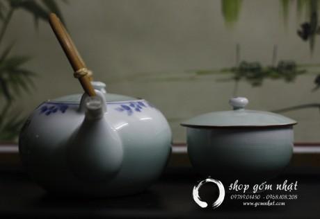 Bộ ấm trà Arita Nhật Bản ( Đã Bán)
