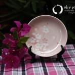 Đĩa gốm hoa anh đào (hết hàng)