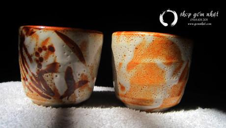 Tách trà nhật gốm thô ( Đã Bán)