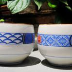 Cặp tách trà Arita (SOLD)