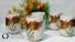 5 tách trà hoa Gốm sứ  Nhật Bản