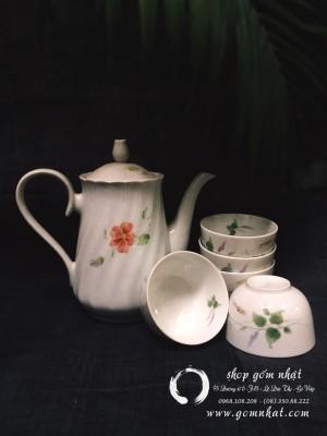 Bộ bình trà  gốm nhật