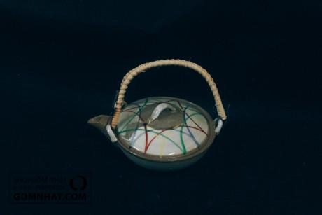 Ấm trà gốm nhật độc ẩm (MS: 3004)