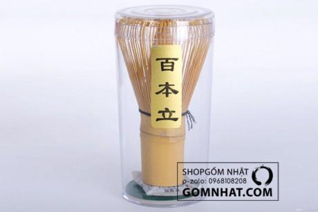 Chổi đánh trà Matcha – Chổi Chasen Nhật Bản